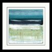 """Star Creations """"Sea and Sky II"""" by Heather McAlpine Framed Painting Print"""