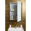 Belfry 70.3cm x 90cm Surface Mount Flat Mirror Cabinet