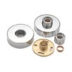Belfry Round Easy Fit Bar Valve Wall Plates