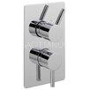Belfry Twin Concealed Shower Valve with Diverter