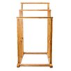 Belfry Freestanding Bamboo Towel Holder