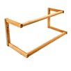 Belfry Wall Mounted Bamboo Towel Holder