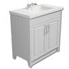 Belfry 79 cm Einzelwaschbeckenunterschrank mit Waschbecken