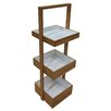 Belfry Bamboo Free Standing Shower Caddy