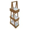 Belfry Bamboo and MDF Free Standing Shower Caddy
