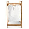 Belfry Laundry Storage Bin with Bamboo Frame and Fabric Bag