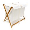Belfry Folding Laundry Storage Stand with 2 Fabric Bags