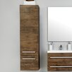 Belfry Abita 40 x 143cm Wall Mounted Tall Bathroom Cabinet