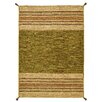 Andover Mills McKenney Hand-Woven Green Area Rug