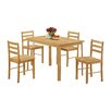 Andover Mills Thorndike Dining Table and 4 Chairs