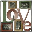 Andover Mills Love Picture Frame