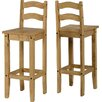 Andover Mills Classic Corona Bar Stool (Set of 2)