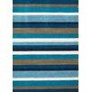 Andover Mills Teppich Inca in Blau/Braun
