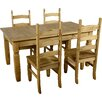 Andover Mills Corona Extendable Dining Table and 4 Chairs