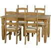 Andover Mills Corona Dining Table and 4 Chairs