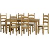 Andover Mills Corona Dining Table and 6 Chairs