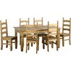 Andover Mills Chase Extendable Dining Table and 6 Chairs