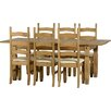 Andover Mills Corona Extendable Dining Table and 6 Chairs
