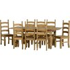 Andover Mills Chase Extendable Dining Table and 8 Chairs