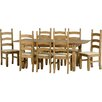 Andover Mills Corona Extendable Dining Table and 8 Chairs