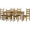 Andover Mills Chase Dining Table and 6 Chairs