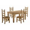 Andover Mills Chase Dining Table and 4 Chairs