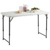 "VonHaus 48"" Rectangular Folding Table"