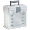 VonHaus Portable Utility Tool Box Organizer Case