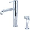 Pioneer Motegi Single Handle Deck Mounted Kitchen Faucet with Side Spray