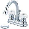 Pioneer Brentwood Double Handle Centerset Bathroom Faucet