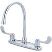 Olympia Faucets Double Handle Centerset Kitchen Faucet