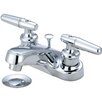 Olympia Faucets Double Handle Centerset Bathroom Faucet