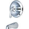 Olympia Faucets Single Handle Tub Trim with Lever Handles