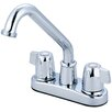 Olympia Faucets Double Handle Centerset Bar/Laundry Faucet