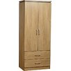 Riley Ave. Brandy 2 Door Wardrobe