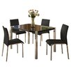 Riley Ave. Karina Dining Table and 4 Chairs