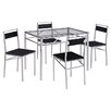 Riley Ave. Layla Dining Table and 4 Chairs