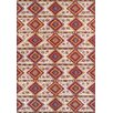 Riley Ave. Brittany Red/Ivory Area Rug