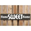 Factory4Home 2-tlg. Schild-Set BD-Home sweet Home, Typographische Kunst
