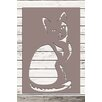 Factory4Home 2-tlg. Schild-Set SH-Cat, Grafische Kunst in Taupe