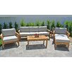 Willow Creek Designs Monterey 6 Piece Deep Seating Group with Cushion