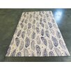 Arthouse Innovations Blue and Beige Area Rug