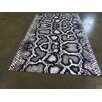 Arthouse Innovations Black and White Area Rug