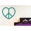 Cut It Out Wall Stickers Love Peace Heart Large Wall Sticker