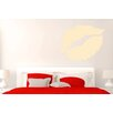 Cut It Out Wall Stickers Lipstick Kiss Wall Sticker
