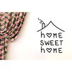 Cut It Out Wall Stickers Home Sweet Home Hand Drawn Wall Sticker