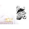 Cut It Out Wall Stickers I Love You to the Moon and Back with Stars Wall Sticker