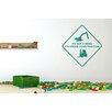 Cut It Out Wall Stickers It's Not a Mess It's Under Construction Sign Wall Sticker