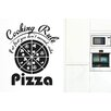 Cut It Out Wall Stickers Cooking Rule If at First You Don't Succeed Order Pizza Wall Sticker