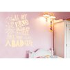 Cut It Out Wall Stickers Don't Let a Bad Day Make You Feel Like You Have a Bad Life Wall Sticker